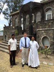 AB visits St Christopher and Nevis2
