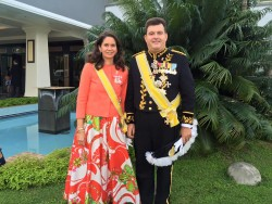 Coronation of HM King Queen Tonga2