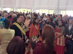 Coronation of HM King Queen Tonga4