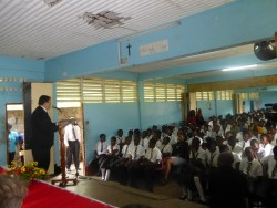 Sir Anthony Bailey launches charitable programmes in Grenada3